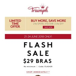 [Triumph] ⚡️ FLASH SALE $29 Bras + New Arrivals!