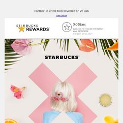 [Starbucks] Count down to #StarbucksX