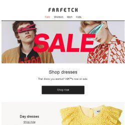 [Farfetch] Up to 60% off with further reductions