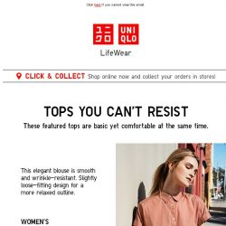 [UNIQLO Singapore] Recommended pieces for your family
