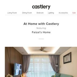[Castlery] At Home with Castlery – Diamond Patterns