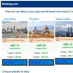 [Booking.com] Prices in Johor Bahru dropped again – act now and save more!