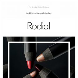[RODIAL] Big, Bold And Beautiful: Suede Lips 💄