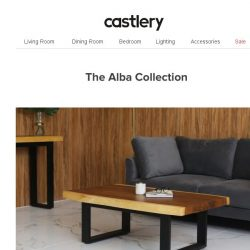 [Castlery] Wild Artistry – The Alba Collection