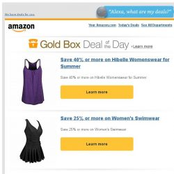 [Amazon] Save 40% or more on Hibelle Womenswear for Summer
