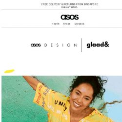 [ASOS] New: ASOS DESIGN x glaad&