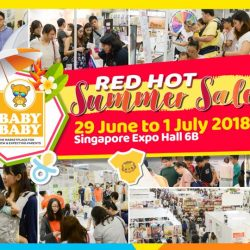 Baby Baby: Mega-Saver Baby Fair at Singapore Expo This Weekend!