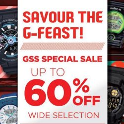 CASIO G-SHOCK: Enjoy Up to 60% OFF Wide Range of G-SHOCK Watches!