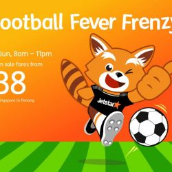 Jetstar: Football Fever Frenzy with All-In Fares to Sanya, Bali, Penang & More from SGD38!