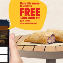 Burger King: Flash BURGER KING® App for FREE Taro-Corn Pie with Any Purchase!
