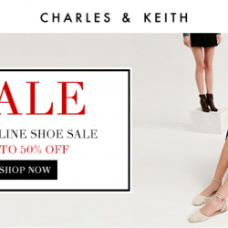 Charles & Keith: The Online Shoe Sale with Up to 50% OFF Over 1000 Styles!