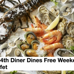 Food Exchange: 4th Diner Dines Free Weekend Oyster Dinner Buffet!