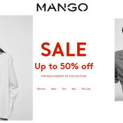 Mango: Great Singapore Sale with Up to 50% OFF In Stores & Online