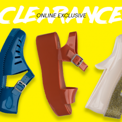 Melissa: Online Clearance Sale with Up to 40% OFF + Additional 10% OFF with Min. Purchase of 5 Pairs
