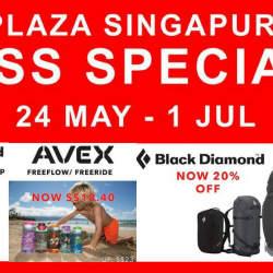 Outdoor Life: Last Week for Plaza Singapura Great Singapore Sale Special