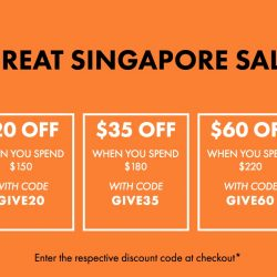 ASOS: Save up to $60 at their Great Singapore Sale with these Coupon Codes!