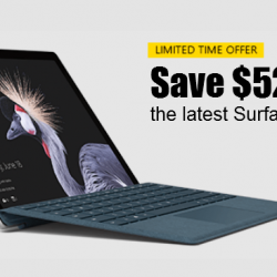Microsoft Official Store: Get the Surface Pro i7 + Accidental Damage Coverage for 2 Years at $529 OFF!