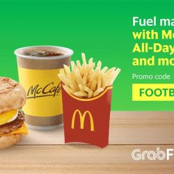 Grab: Make a Late Night McDonald's® Order via GrabFood & Earn Yourself $5 OFF a Grab ride!