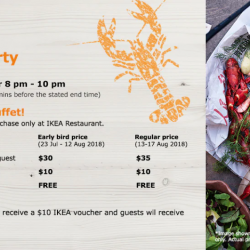 IKEA: All-You-Can-Eat Crayfish Buffet on 17 August 2018