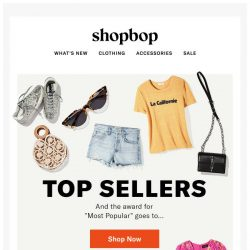 [Shopbop] You're going to want EVERYTHING in this email