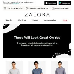 [Zalora] These 12 outfits are up to 70% off!