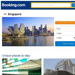 [Booking.com] We found you the latest prices in Singapore