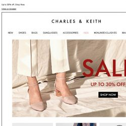 [Charles & Keith] CHARLES & KEITH | End-of-Season Sale