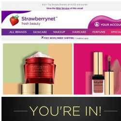 [StrawberryNet] , Surprise! Get Extra 20% Off + Free Shipping Now!