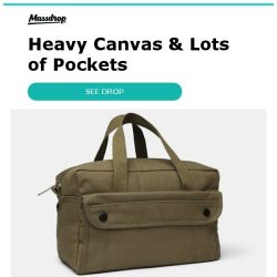 [Massdrop] Rothco G.I. Type Mechanics Tool Bags: Durable Canvas Storage Bags for $11.99