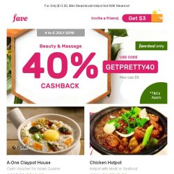 [Fave] Hey there, Asian cuisine lover. A-One Claypot House: $25 Cash Voucher Is Now Yours!