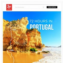 [Kaligo] , earn up to 10,000 Miles with a weekend trip to Portugal!