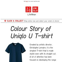 [UNIQLO Singapore] Colours to suit every style