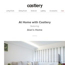 [Castlery] At Home with Castlery - A Touch of Gold