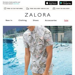 [Zalora] Up to 60% off + EXTRA 30% off Summer Highlights!