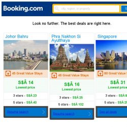 [Booking.com] Johor Bahru, Phra Nakhon Si Ayutthaya, or Singapore? Get great deals, wherever you want to go