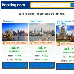 [Booking.com] Singapore, Johor Bahru, or Phra Nakhon Si Ayutthaya? Get great deals, wherever you want to go