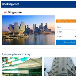 [Booking.com] Deals in Singapore from S$ 31