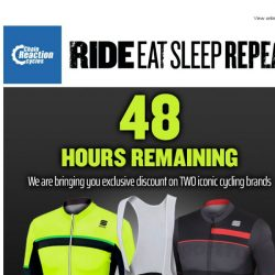 [Chain Reaction Cycles] Fizik and Sportful Exclusive: 48 Hours Remaining