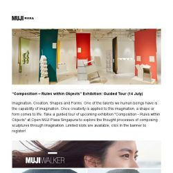 [Muji] Mark your weekends with MUJI exhibition guided tour and fun-filled workout event!