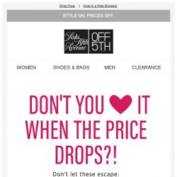[Saks OFF 5th] Your Superdry item dropped in price (but there are only a few left)!