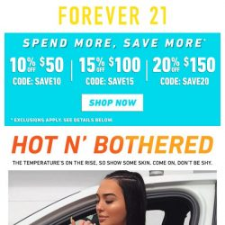 [FOREVER 21] Get Cheeky 🍑