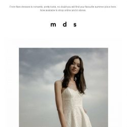 [MDS] New In: Summer Calling!