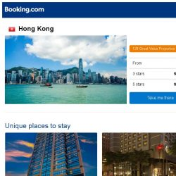 [Booking.com] Deals in Hong Kong from S$ 41