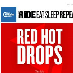 [Chain Reaction Cycles] Breaking: Red Hot Drops Final Week! 😲