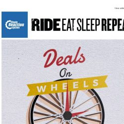 [Chain Reaction Cycles] Deals on Wheels!