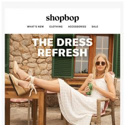 [Shopbop] Cool down in these crisp dresses