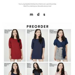 [MDS] It's Here! | Shop the Arriving Soon items launching today