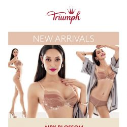 [Triumph] [NEW] Introducing… Airy Blossom Collection