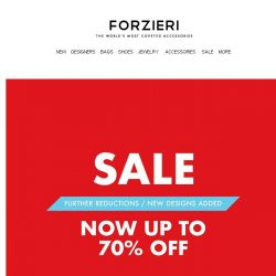 [Forzieri] Now up to 70% Off SALE