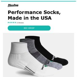 [Massdrop] Fitsok CF2 Cushion Quarter Socks: Everyday Performance Socks for $11.99 Per 3-Pack